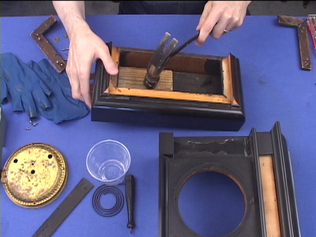 Clock Case Repair Restoration Assembly