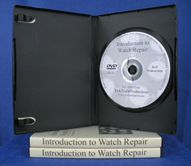 Introduction Watch Repair DVD