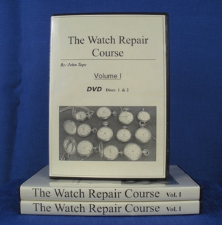 Watch Repair Course DVD Volume 1 cover