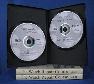 Watch Repair Course DVD Volume 2