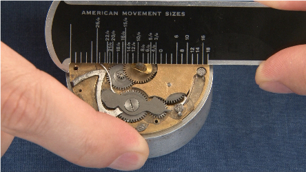 Pocket Watch movement