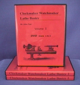 Clockmaker Watchmaker Lathe Basics Volume I