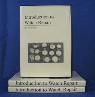 Introduction Watch Repair Course DVD cover