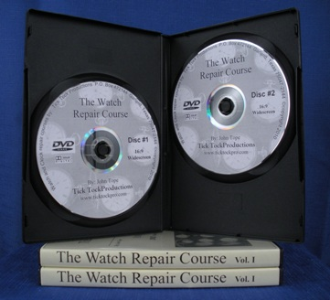 Watch Repair Course DVD Volume 1