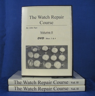 Watch Repair Course DVD Volume 2 cover