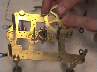 Clock Repair assemble the strike